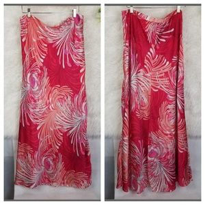 NWT Floral Burst Lined Maxi
